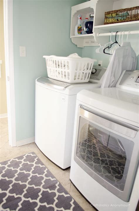 craftaholics anonymous laundry room makeover reveal