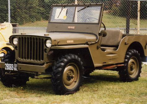 Jeep Cj2 Top Was Added At Some Point In Its Past
