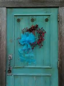 Turquoise front door jpg
