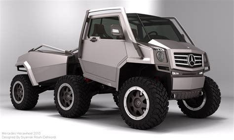 mercedes 6 wheel un official mercedes 6x6 concept adventure rider