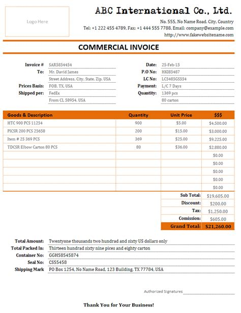 Cargo Freight Bill And Shipment Invoice Bills Of Sale Invoice Templates Shipment Tracking Website Template