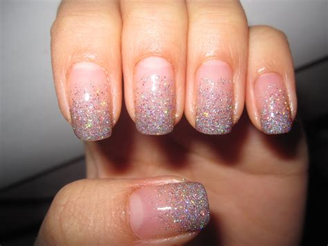 Glitter Nail by Jelly S Nails Glitter Gradient Nails