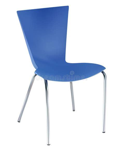 la chaise et bleue la chaise bleue illustration de vecteur illustration du