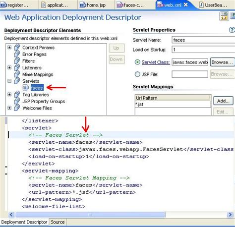 jsp tutorial web xml jsf tutorial 5 running the application