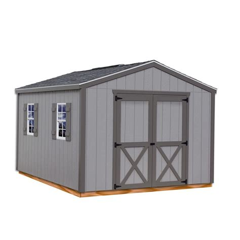 barns elm  ft   ft wood storage shed kit
