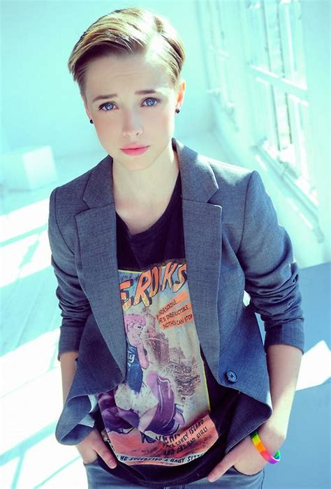 butch pixie haircut 17 best images about style androgyny on pinterest