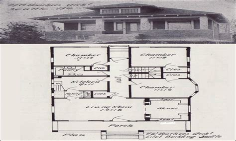 1900 house plans vintage bungalow house plan 1920 bungalow house plans