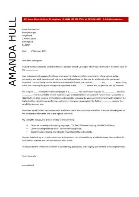 Cover Letter For Cv Architect Learn How To Write A Web Designer Cover Letter By Using This Professionally Written Sle