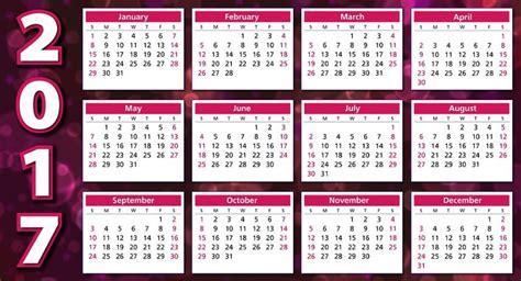 Calendario 2017 Para Imprimir Grande Calendarios 2017 Para Imprimir