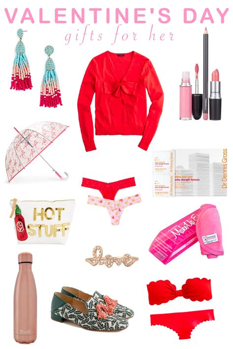 valentines day gifts 2017 valentine s day gifts for her partial to pink