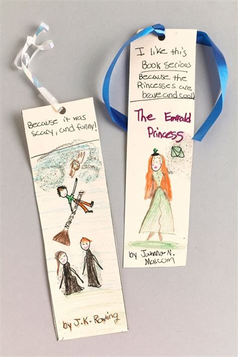 bookmark craft for favorite story bookmark craft bookworm
