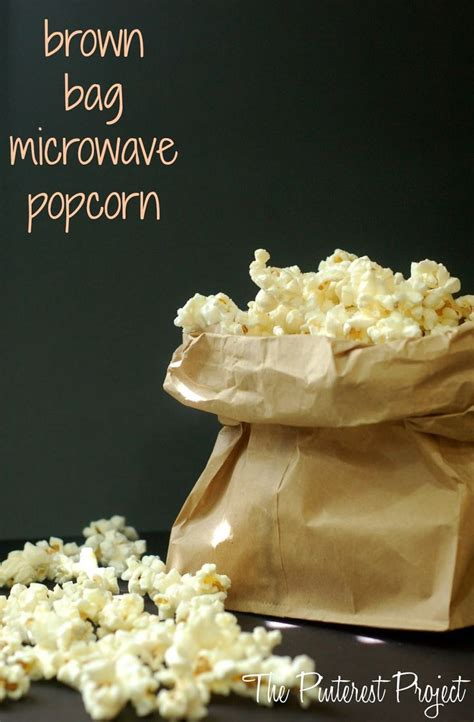 How To Make Popcorn Out Of Paper - 25 b 228 sta brown bag popcorn id 233 erna p 229