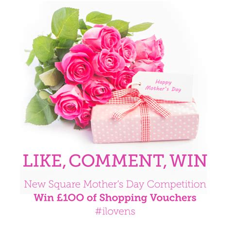 shopping for s day mothers day competition at new square shopping centre