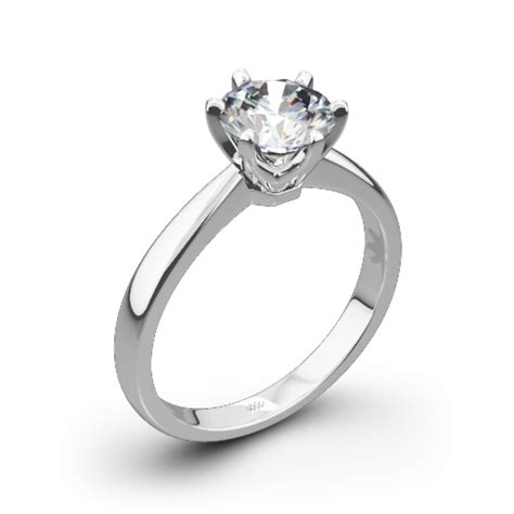 Contemporary Engagement Rings by Contemporary Classic Solitaire Engagement Ring 1416