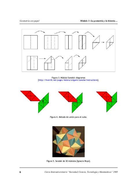 figuras geometricas origami origami en figuras geometricas