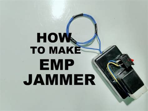 emp jammer electronics projects hub