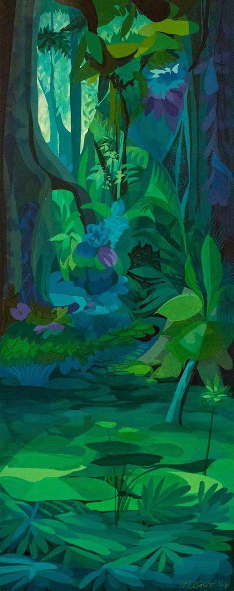 jungle book themes analysis walt peregoy jungle book concept art 1964 animation