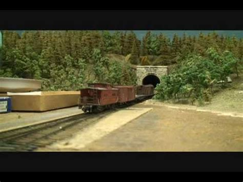 train layout videos youtube large ho scale model train layout youtube
