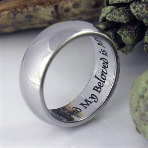 zanele muholi promise and wedding gifts i am my beloved wedding band promise ring stainless