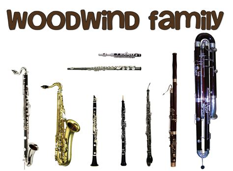 blue note instruments the woodwind family of musical