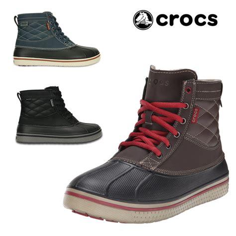 mens croc boots footmonkey rakuten global market crocs boa boots crocs