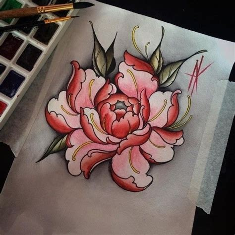 peony tattoo design best 25 japanese peony ideas on