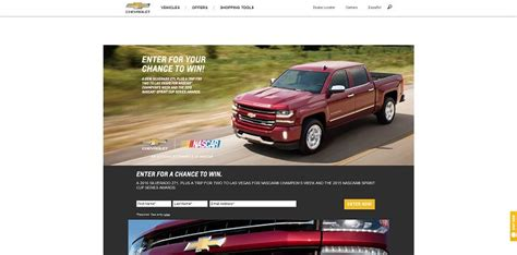 Chevy Sweepstakes - winyourchevy com chevrolet sweepstakes win the 2016 chevrolet silverado z71