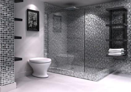 Mosaico Grigio Bagno by Bagno Con Mosaico Edilnet