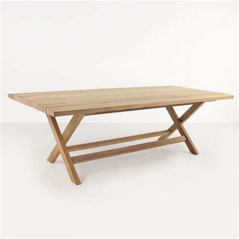 artisan teak outdoor dining table teak warehouse