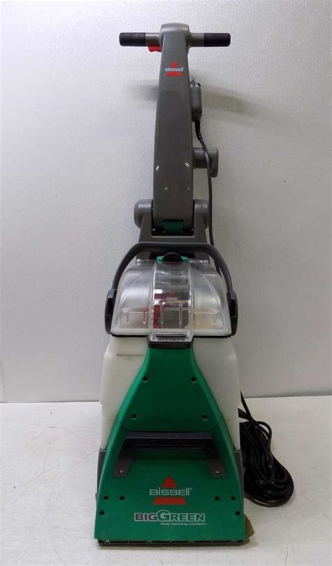 bissell carpet and upholstery cleaning machines bissell 86t3 big green deep cleaning machine carpet
