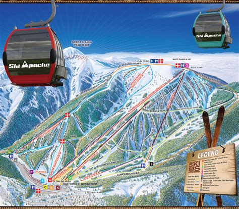 apache trail map ski apache