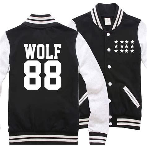 Jaket Varsity K Pop Exo exo wolf 88 varsity jacket on storenvy