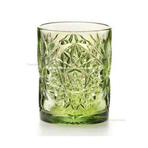 bicchieri fade bicchieri vintage fade ml 300 verde bicchieri vetro