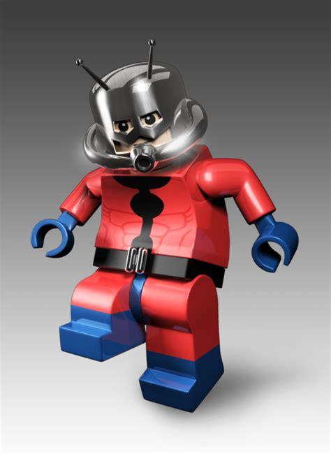 Lego Antman marvel comics the legion of minifigs