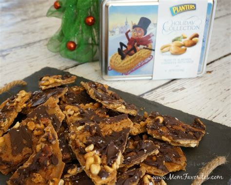 Planters Peanut Brittle Recipe by Salted Caramel Nutty Toffee Bars Holiday Recipe