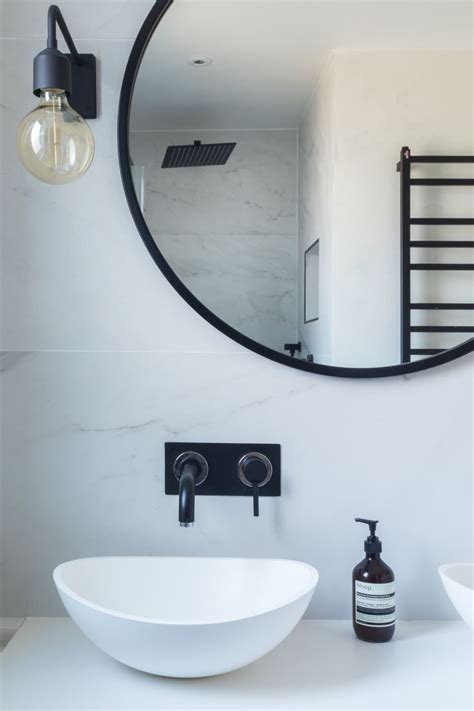 black mirror for bathroom best 25 industrial bathroom faucets ideas on pinterest