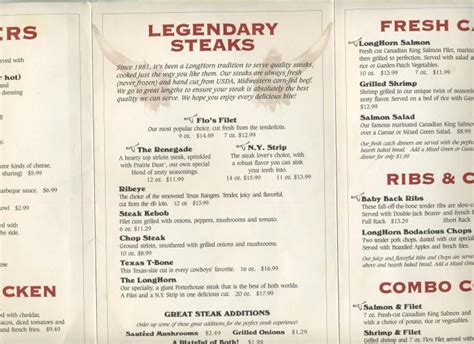 longhorn steak house menu texas steakhouse red bliss potatoes recipe gt gt outback