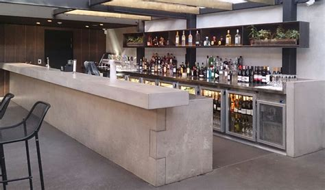 cement bar top image gallery concrete bar