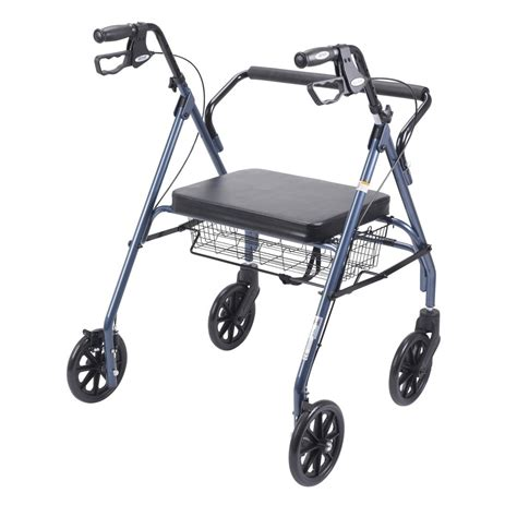 drive walker with seat drive heavy duty bariatric walker rollator with