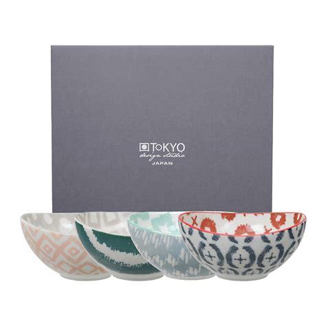 Set Of 4 Bowl buy tokyo design studio kasuri bowl set of 4 amara