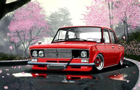 japanese car wallpaper car wallpapers vaz 2106 japan style roads