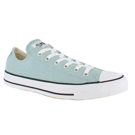 Light Blue Converse converse all chuck ox light blue unisex shoes ebay