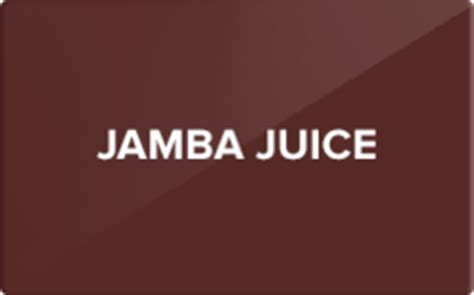 Jamba Juice Gift Card Promotion - jamba juice gift card discount 27 20 off