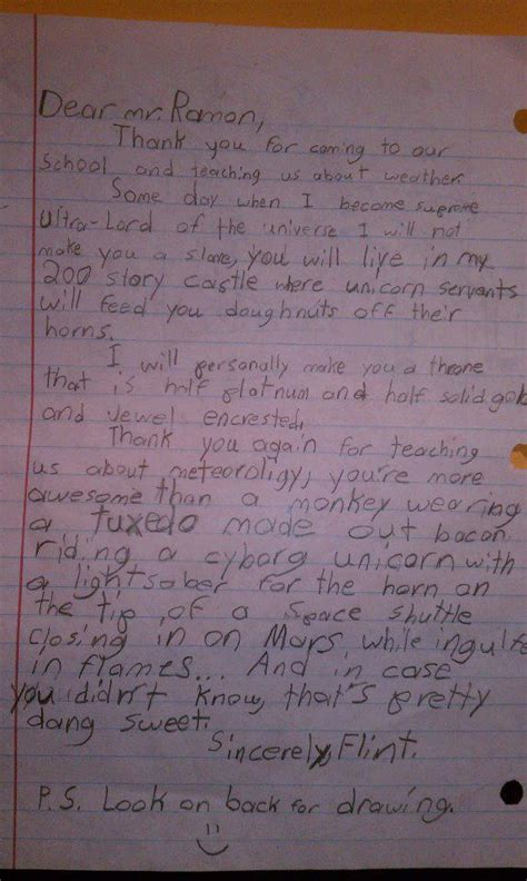 up letter goes viral 4th grader s thank you letter goes viral fox2now