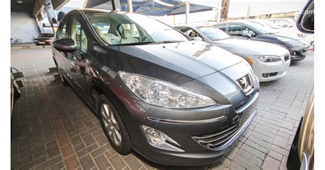 peugeot 408 for sale peugeot 408 active for sale aed 45 000 grey silver 2012