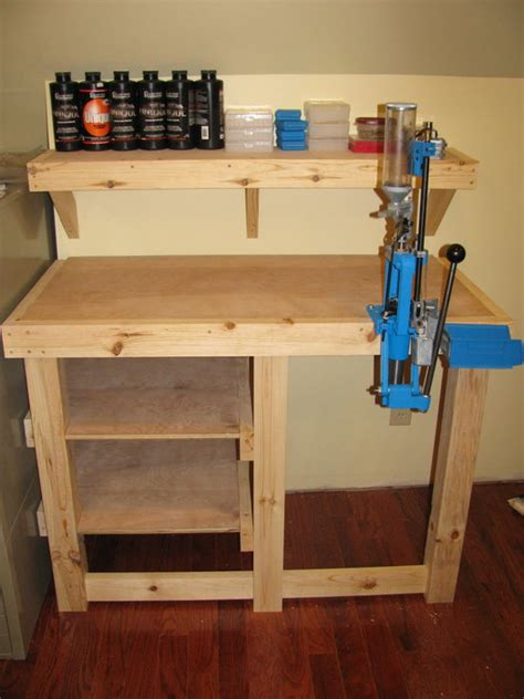 pictures of reloading benches reloading bench by thebluebever lumberjocks com