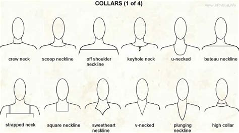 work pattern types collars costumes reference for work pinterest