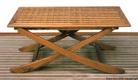 tavoli per barche tavolo in legno per barca o giardino pieghevole e