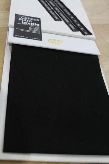 Kain Jetblack fitinline kain jet black