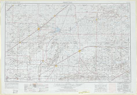 map of perryton texas perryton topographic maps tx ok usgs topo 36100a1 at 1 250 000 scale